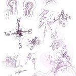 Doodle sheet - Rocky Road Touring